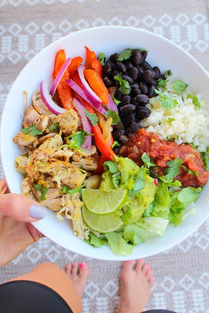 Jaca Carnitas Burrito Bowl - O Fitnessista 4