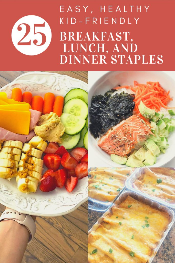 Easy, healthy breakfast lunch and dinner recipes that kids love! fitnessista.com