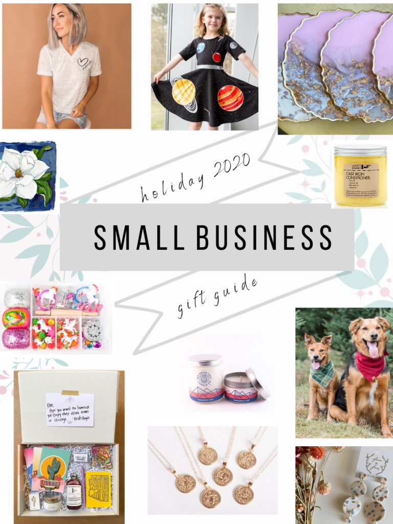 2020 holiday gift guide all supporting small businesses. fitnessista.com