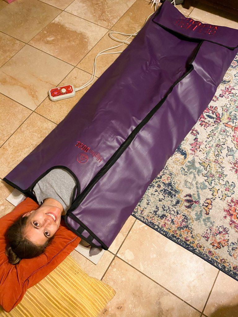 HigherDOSE sauna blanket review