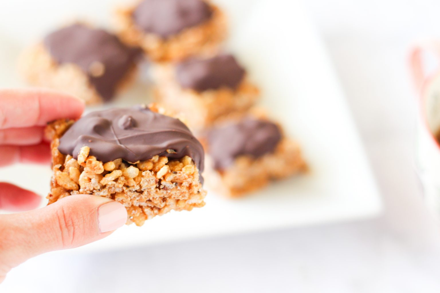 Crunchy Almond Butter Chocolate Bars