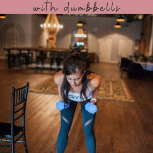barre dumbbell workout