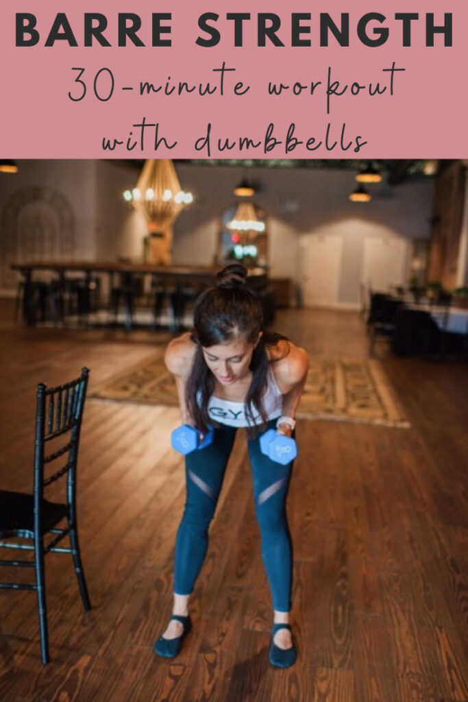 barre dumbbell workout