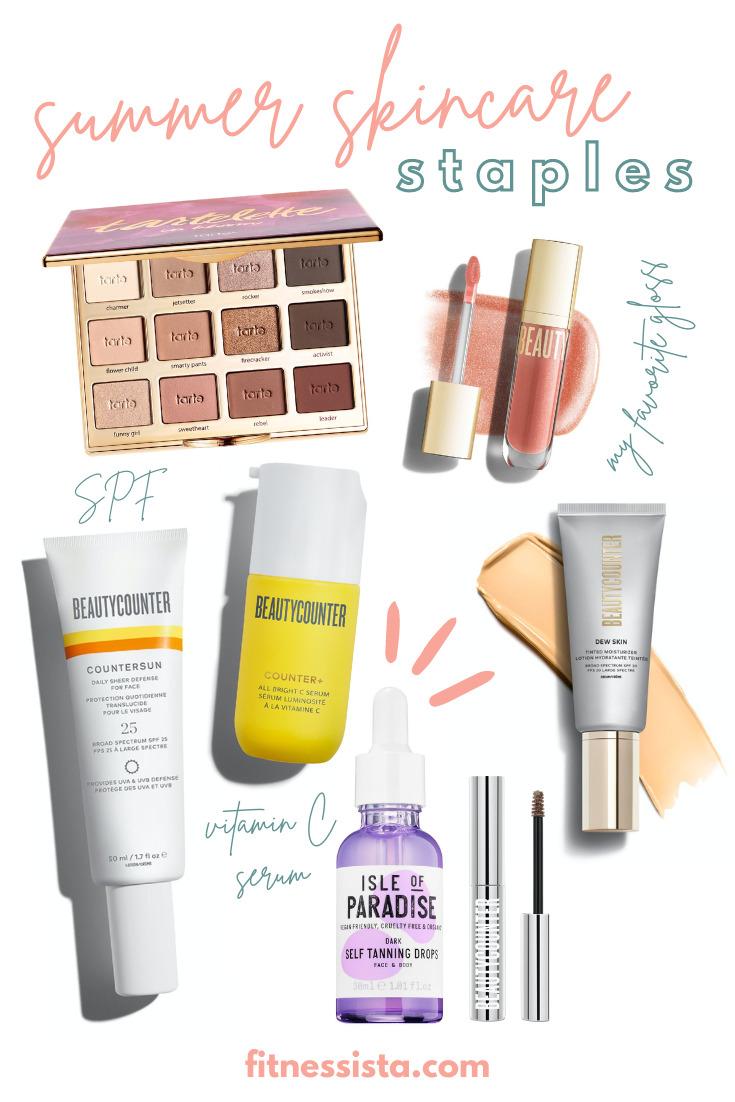 Summer Skincare & Makeup Staples