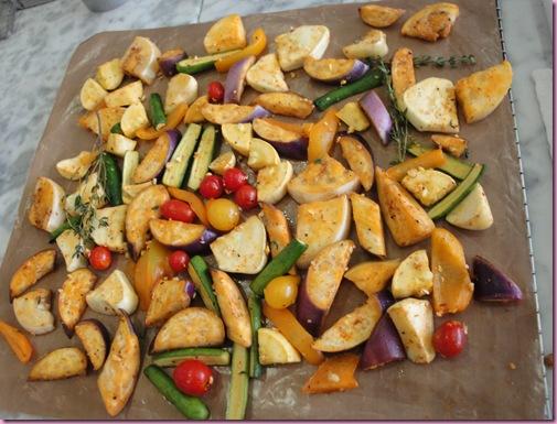 dehydrated veggies