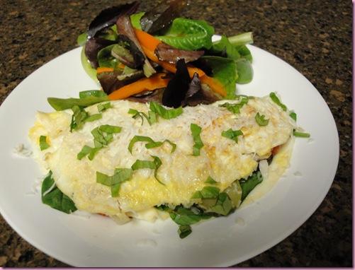 omeletsalad