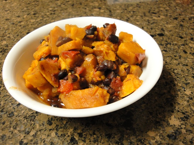 sweet potato black bean chili 2 medium sweet potatoes peeled and diced ...