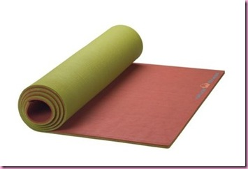 Natural Fitness yoga mat moss red rockCropped