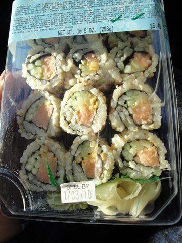 Sushi Snafu The Fitnessista