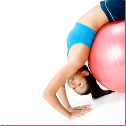 Fitball Stretch