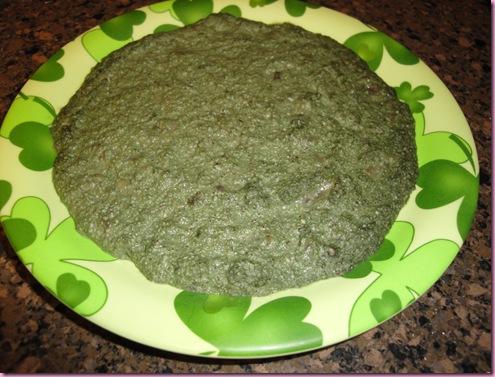 green bfast cookie