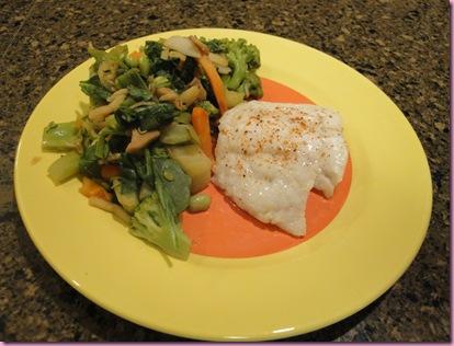 fish and veg