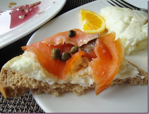 egg salmon