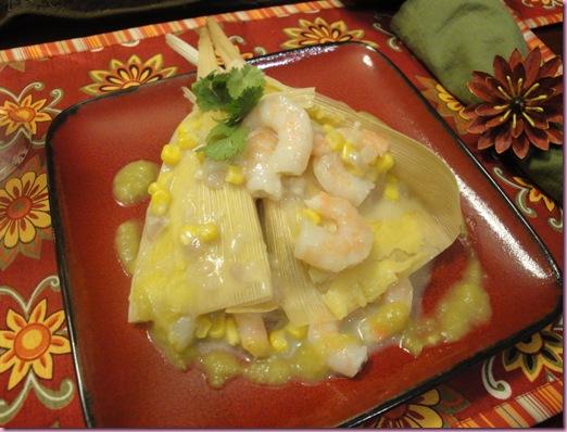 shrimp tamales