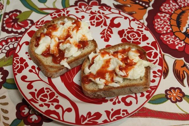 Open-Faced Eggwich