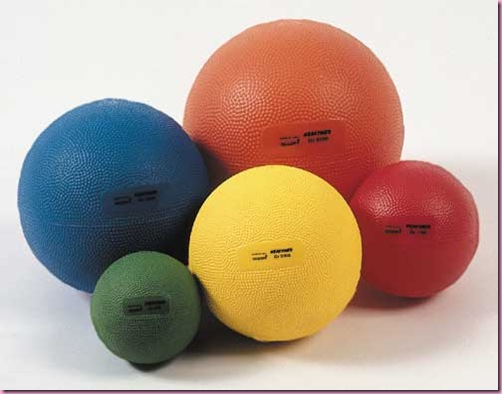 Focus On: Medicine Balls - The Fitnessista