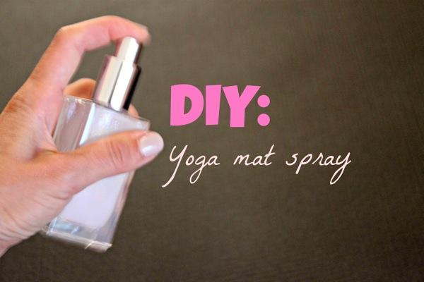 Homemade Yoga Mat Spray The Fitnessista