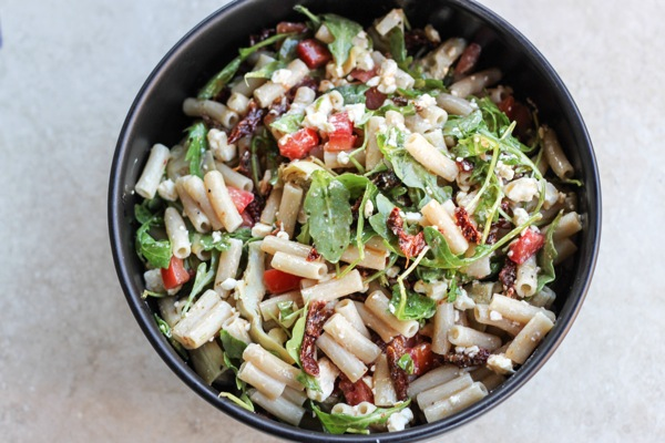 It's a bold statement, but this truly is the best pasta salad ever.