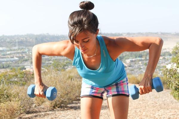 Gina Harney Fitnessista fitness blogger - strength training