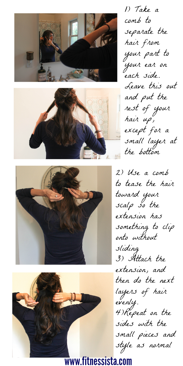 How Do You Apply Stick Tip Hair Extensions 27