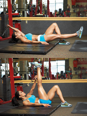 ab workout with cable machine