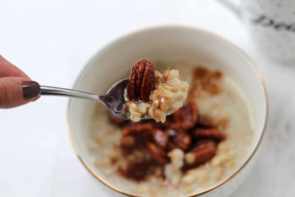 Pecan pie protein oatmeal 4