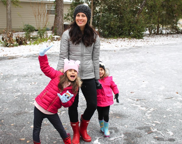 Georgia snowday--me and the girls