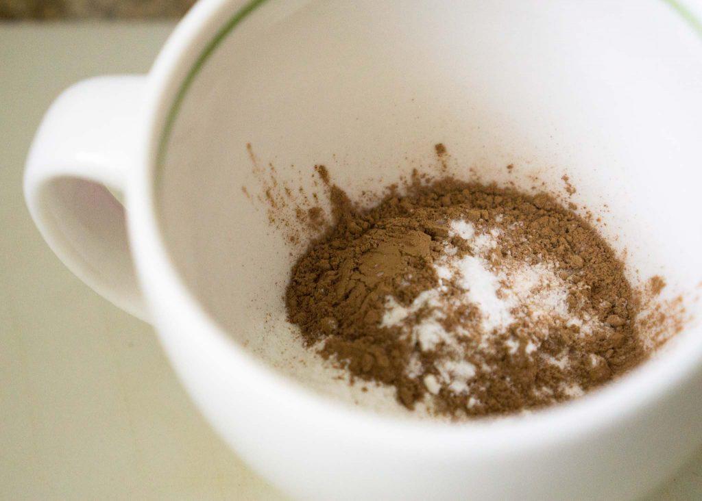 Diet Chocolate Cake In A Mug
